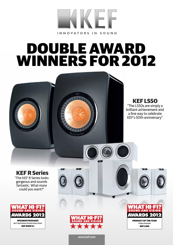 KEF 2012 What Hi Fi Award Review by Chole Ng - issuu