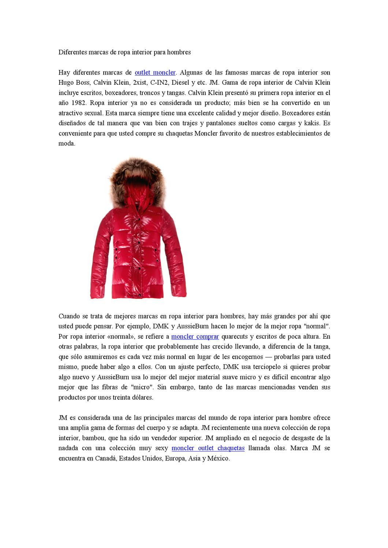 Diferentes marcas de ropa interior para hombres by li han for Marcas de ropa interior