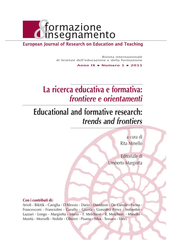 Formazione Insegnamento 1 2011 By Pensa Multimedia Issuu
