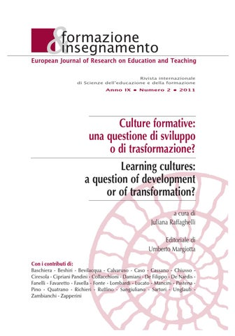 4ff29963fa Formazione & insegnamento 2-2011 by Pensa Multimedia - issuu
