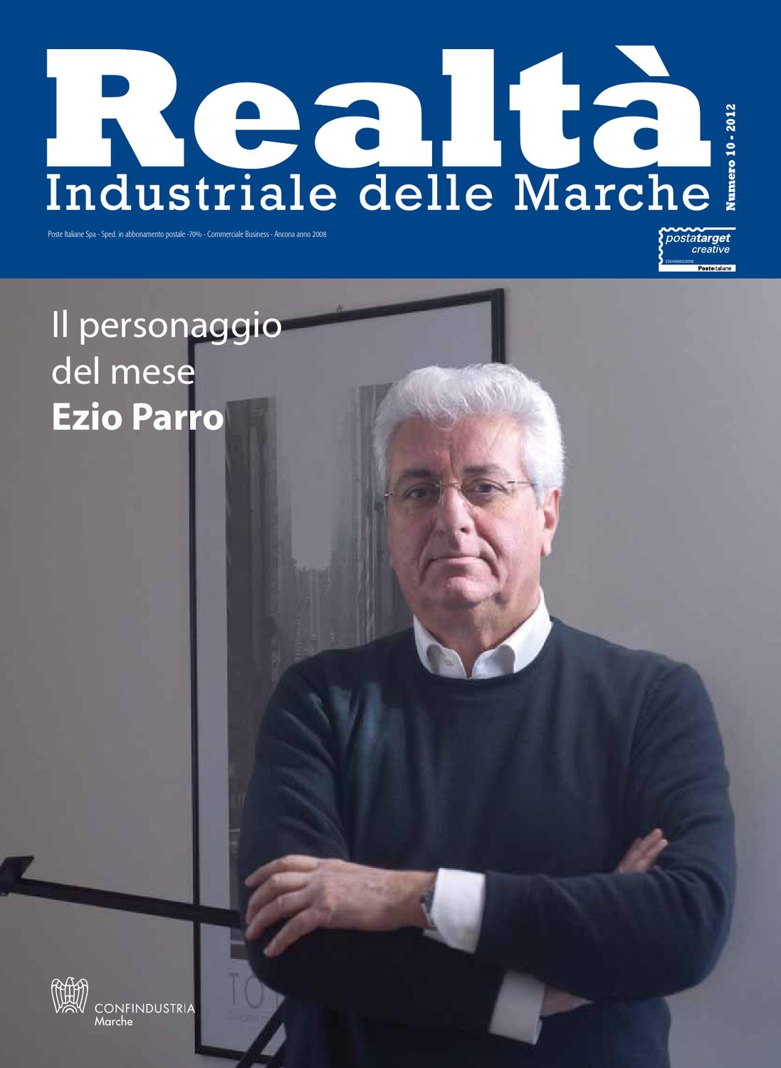 N 10 2012 Realt  Industriale Delle Marche By Confindustria Marche