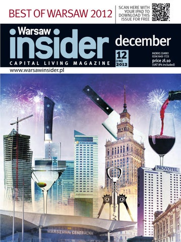 Warsaw Insider December 2012 The Best Of Warsaw 2012 Issue By