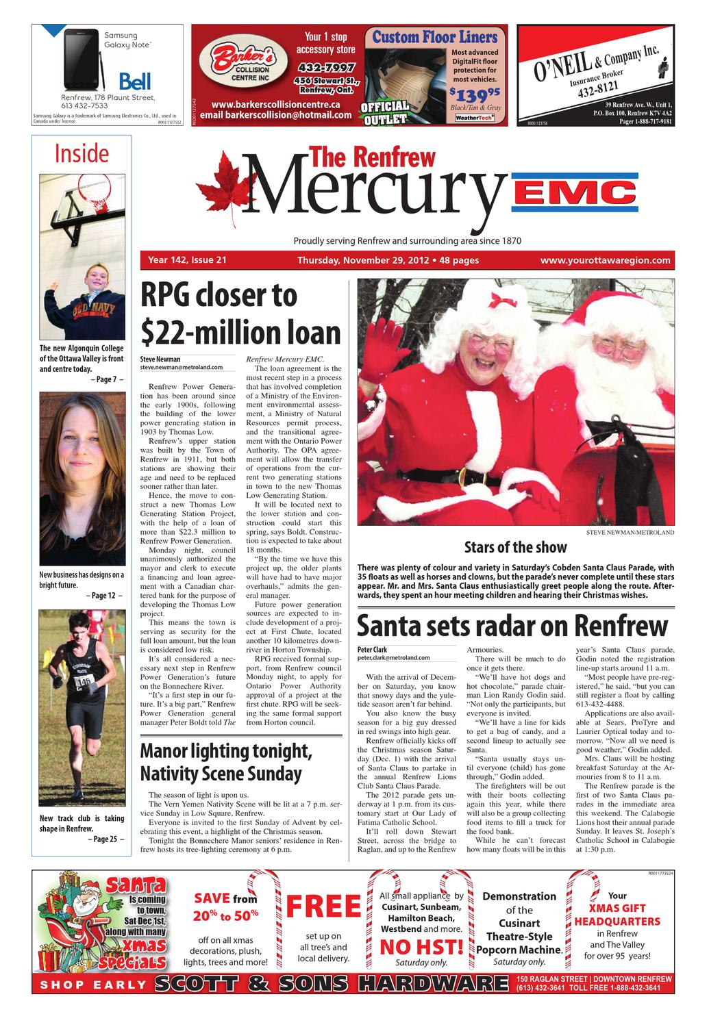 3b0da4de438e Renfrew Mercury EMC by Metroland East - Renfrew Mercury - issuu