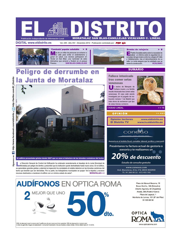 El Distrito de Moratalaz, San Blas, Vicálvaro y Ciudad Lineal by El ...