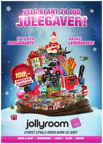 9a1302a0 Velg blant 20 000 julegaver! by Jollyroom - issuu