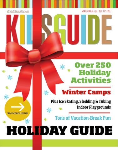 Kidsguides Holiday Guide 2012 By Kidsguide