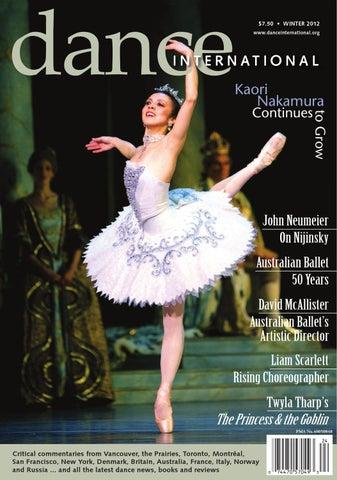 ad299bc38d0d Dance International Magazine Winter Issue. by Trevor Battye - issuu