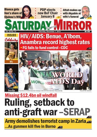 Saturday, December 1, 2012 by GLOBAL MEDIA MIRROR LIMITED