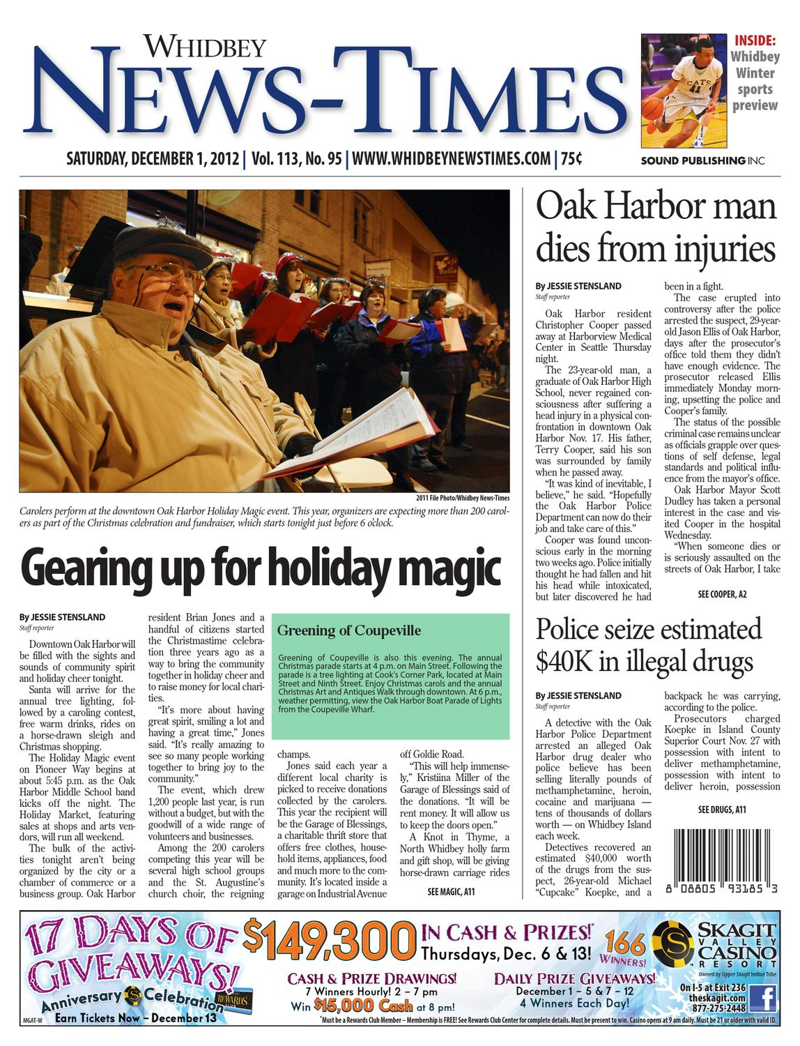 Whidbey News Times December 01 2012 By Sound Publishing