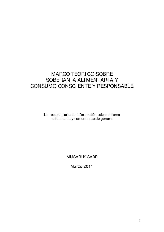 Marco teorico SA y CCR by Mugarik Gabe ONG - issuu