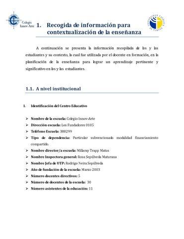 Recogida de información by Sara Villarroel Coloma - issuu