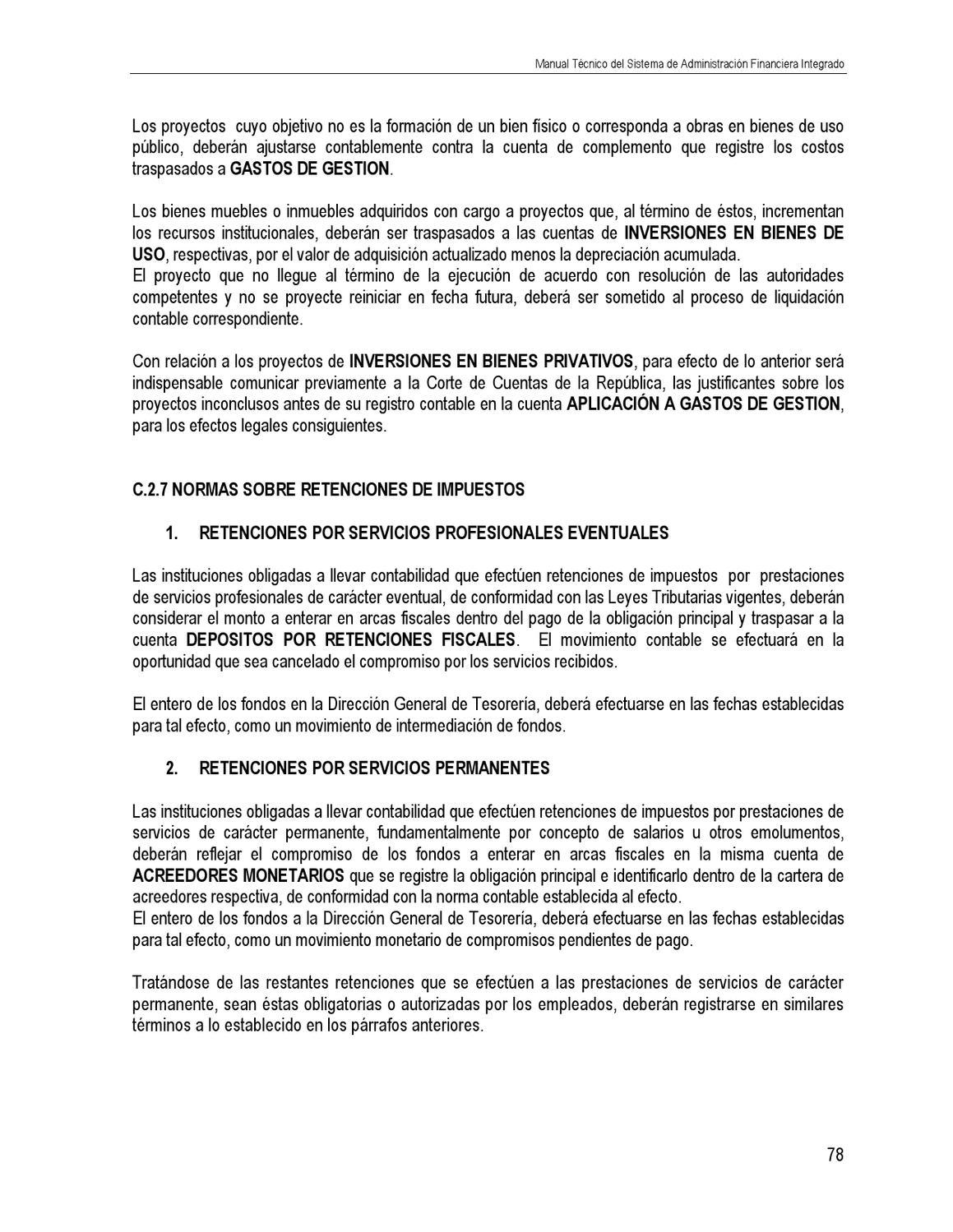 Manual tecnico del safi.