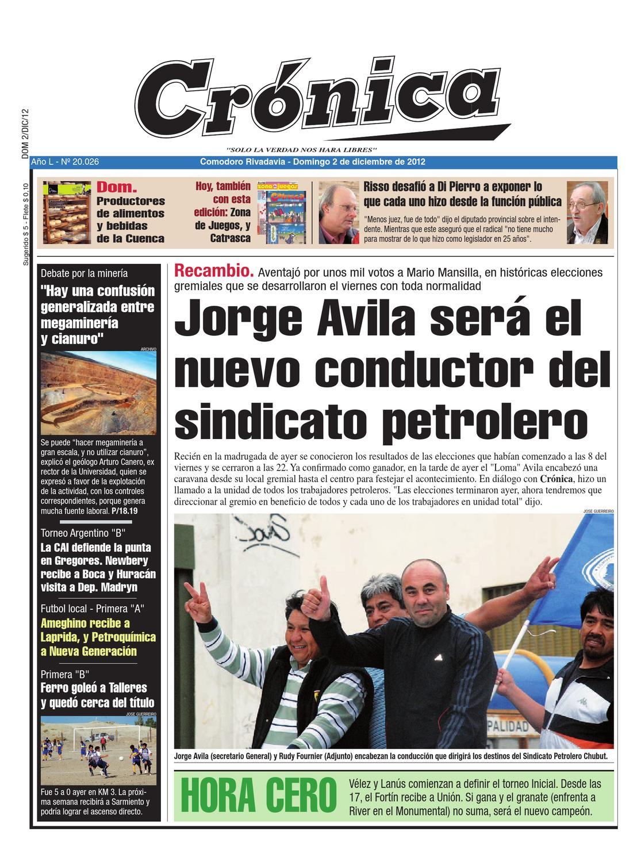 4e4245e0b93c6cd7c59661bc6e95ab96 by Diario Crónica - issuu