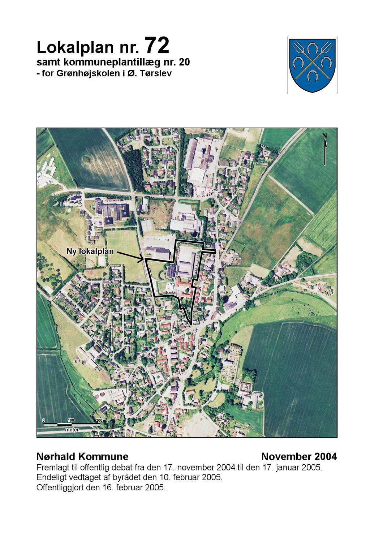 Lokalplan Nr 72 Norhald Kommune By Thomas Djernaes Secher Issuu