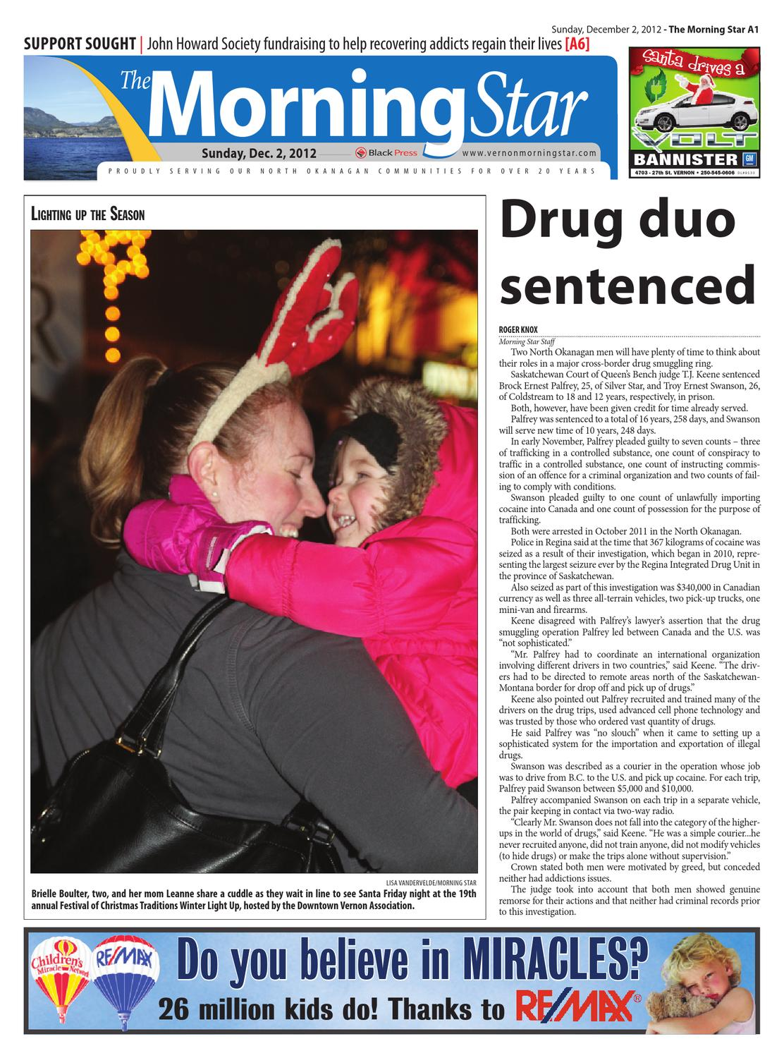 Vernon Morning Star, December 02, 2012 by Black Press - issuu