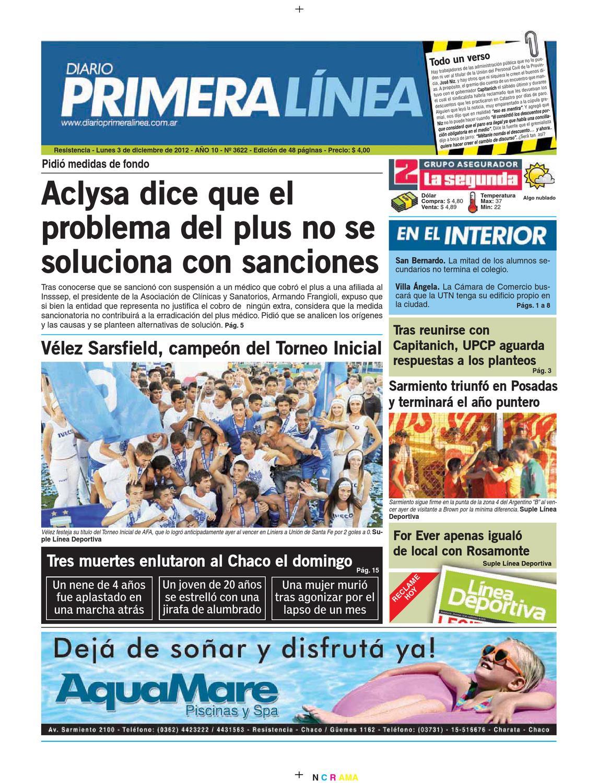 Primera Linea 3622 03-12-12 by Diario Primera Linea - issuu 269ca6ae9410c