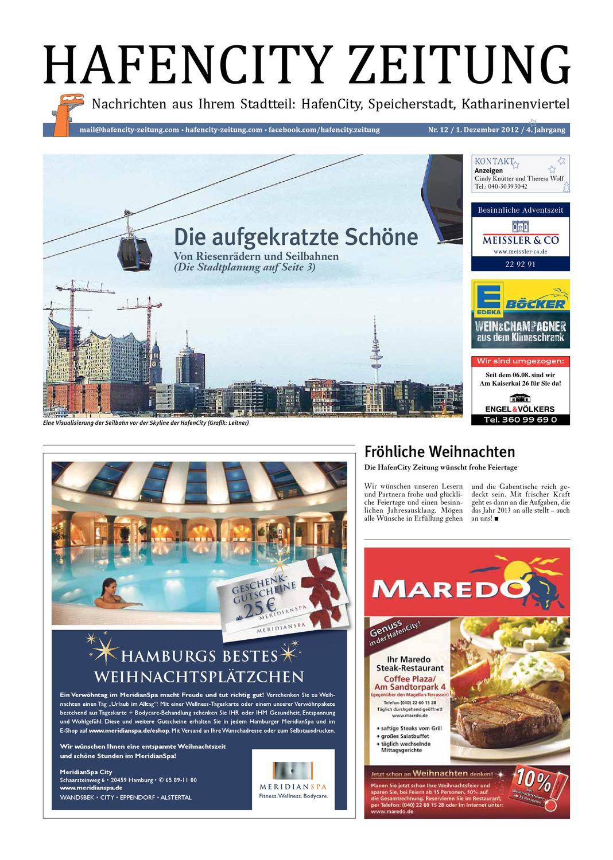 HafenCity Zeitung Dezember 2012 By Michael Klessmann   Issuu