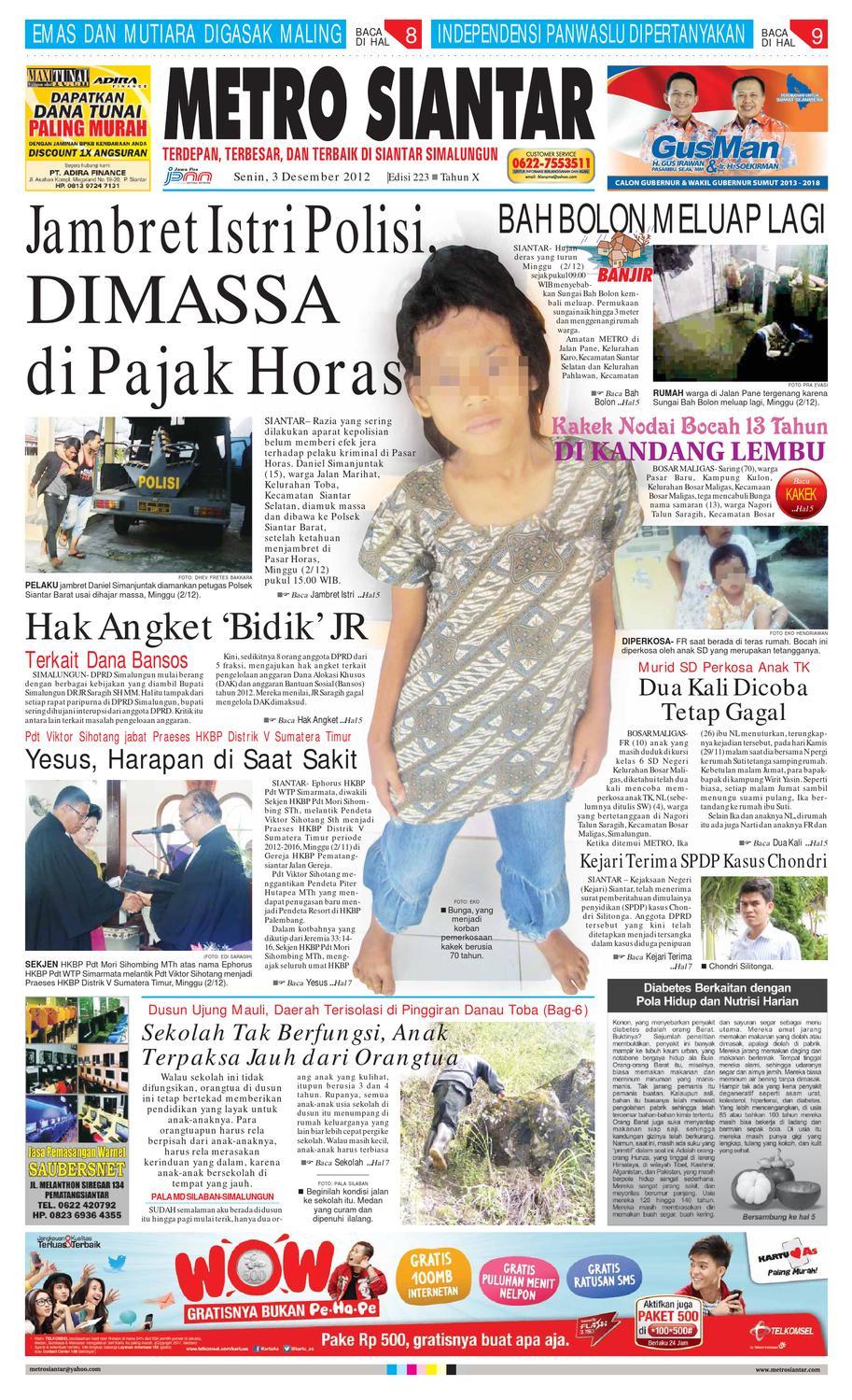 Epaper Metro Siantar By Issuu Produk Umkm Bumn Bolu Gulung Hj Enong