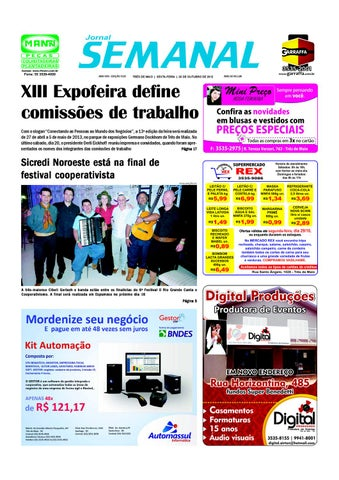 bcdc4f6c01169 Versão Impressa 1229 by Semanal Jornal - issuu