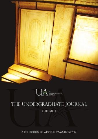 Undergraduate Journal Vol 4 By The Undergraduate Awards Issuu