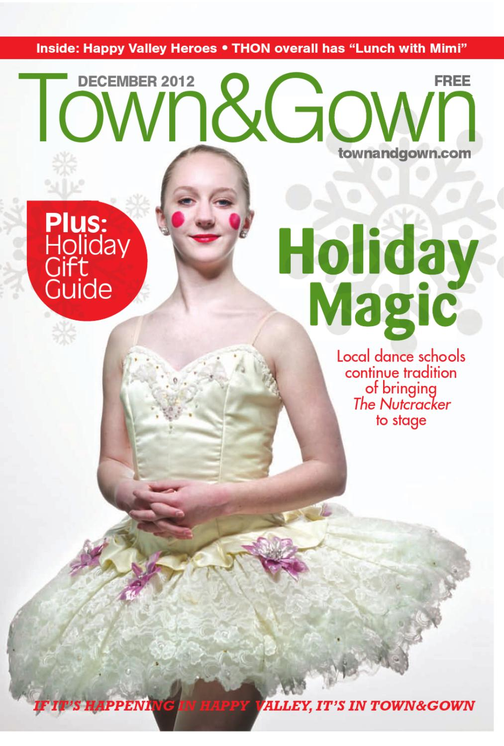 Town Gown Dec 2012 By Town Gown Issuu