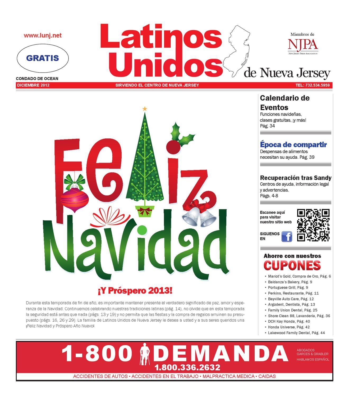 Dec 2012 Ocean by Latinos Unidos de NJ - issuu