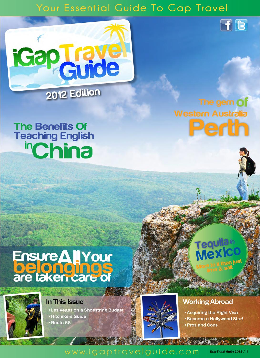 iGap Travel Guide 2012 by Corporate LiveWire - issuu