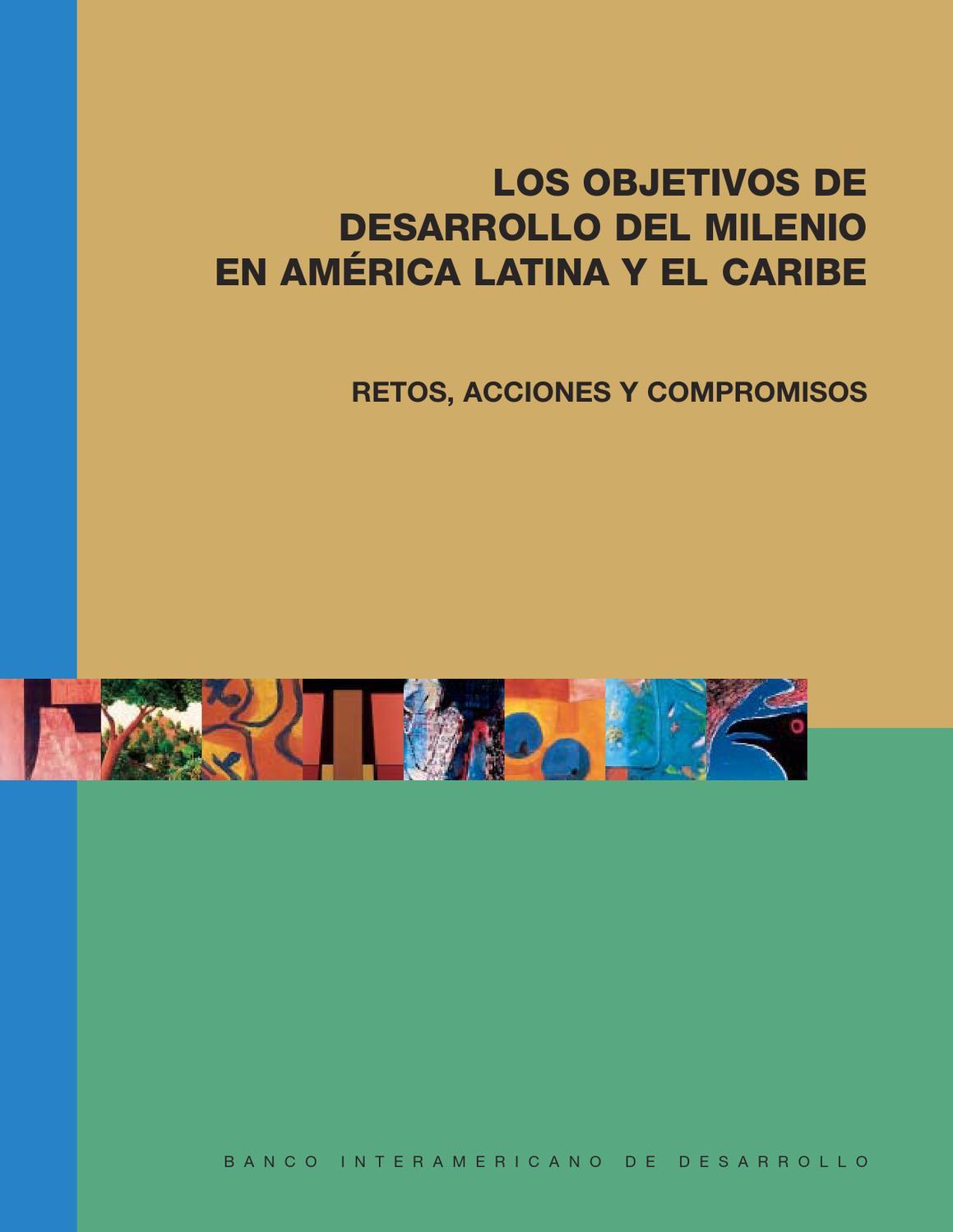 Los objetivos de desarrollo del milenio en América Latina y el ...