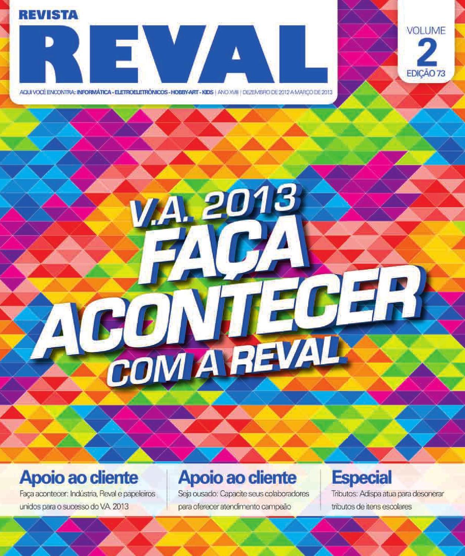 556acb327f87d Revista Reval 73 - Volume 02 by Reval Atacado de Papelaria Ltda. - issuu