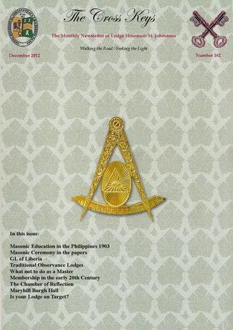 Cross Keys December 2012 Masonic By Neil Grant Macleod Issuu Images, Photos, Reviews