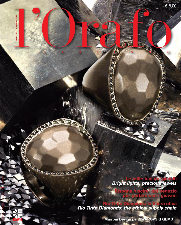 L Orafo Italiano 2012 12 by Edifis - issuu 56bbbc74a9b
