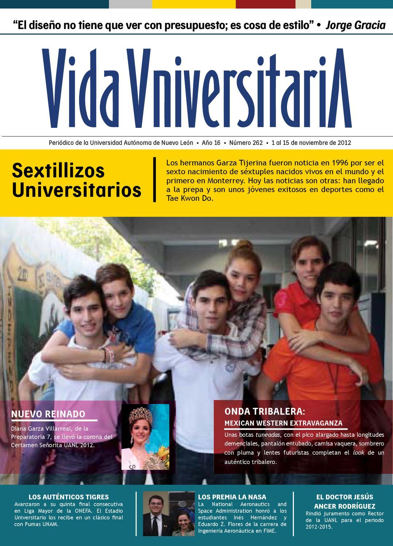 Vida Universitaria UANL No. 262 by Vida Universitaria - issuu 7c8fdeee7c5