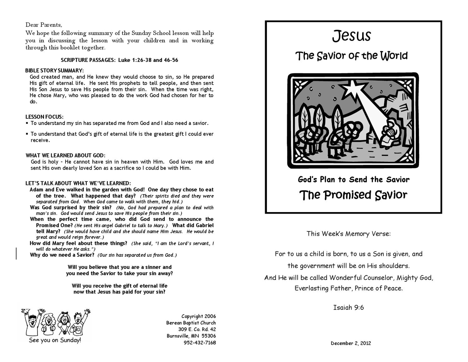 When God Saved Jesus: Biography of a Mighty Prophet