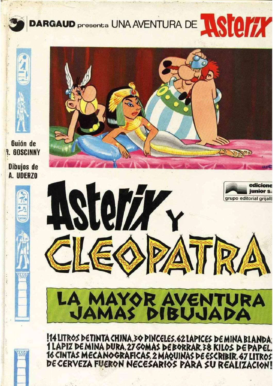 Asterix Y Cleopatra By Kiosko Del Tiempo Issuu