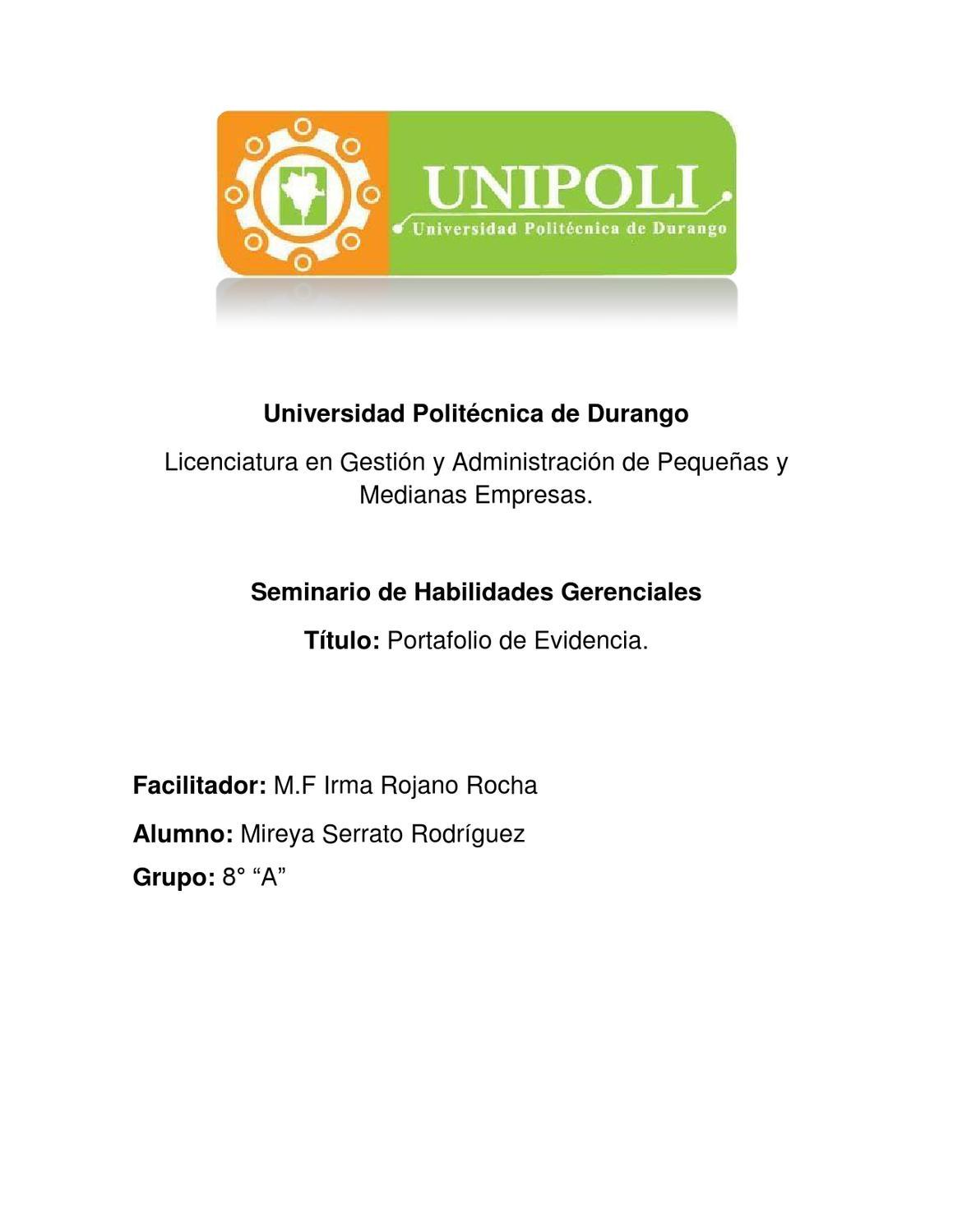 Seminario de Habilidades Gerenciales by Mhyrella Seedry - issuu