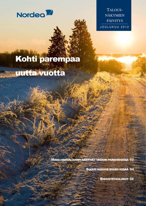 Nordea Tunnuslukusovellus Päivitys