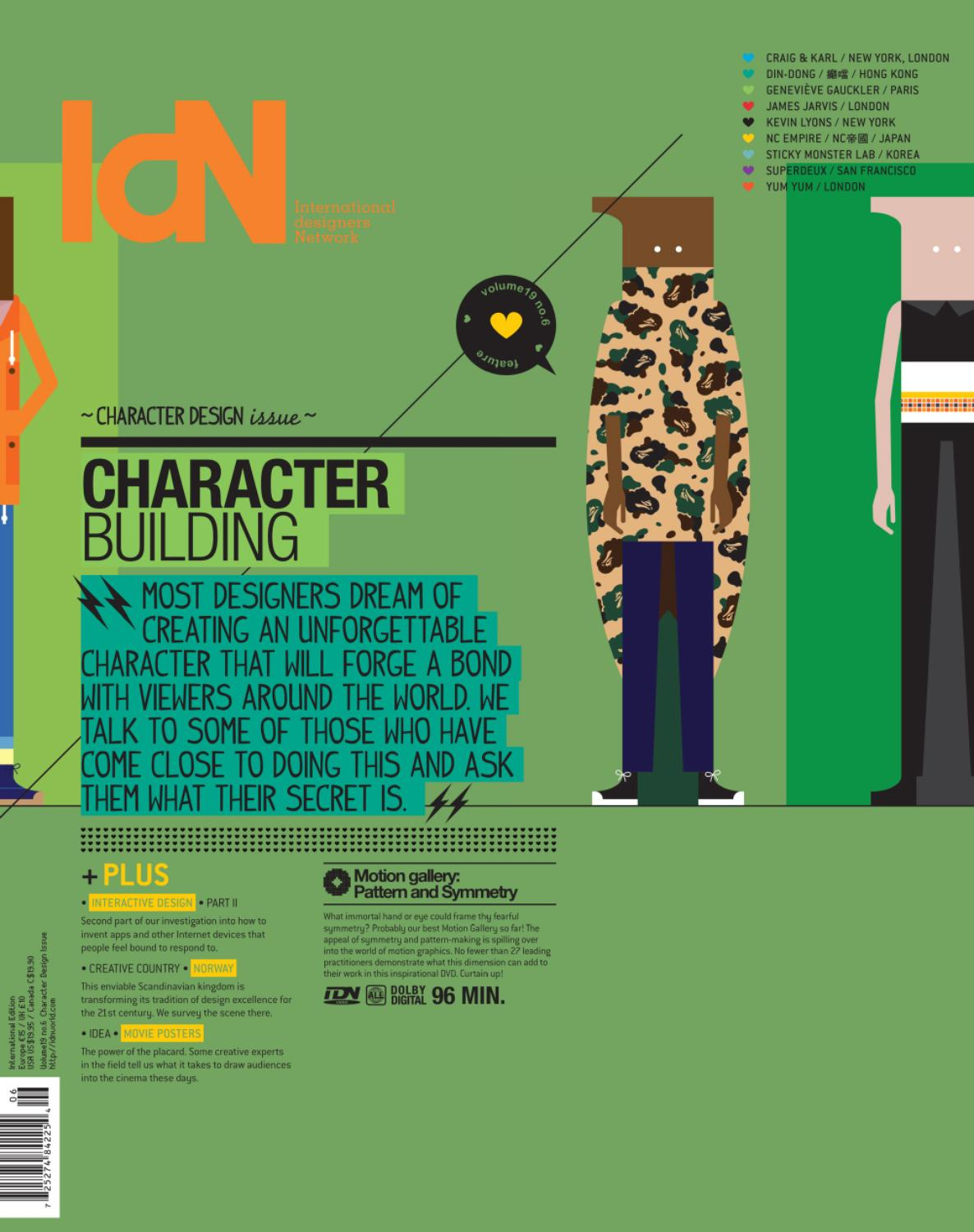 Character Design Quarterly Issue 02 : Idn v n character design issue by magazine issuu