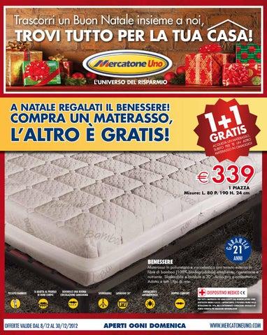 Mercatone Uno Materassi Matrimoniali.Mercatone Uno Volantino 2 30 Dicembre 2012 By