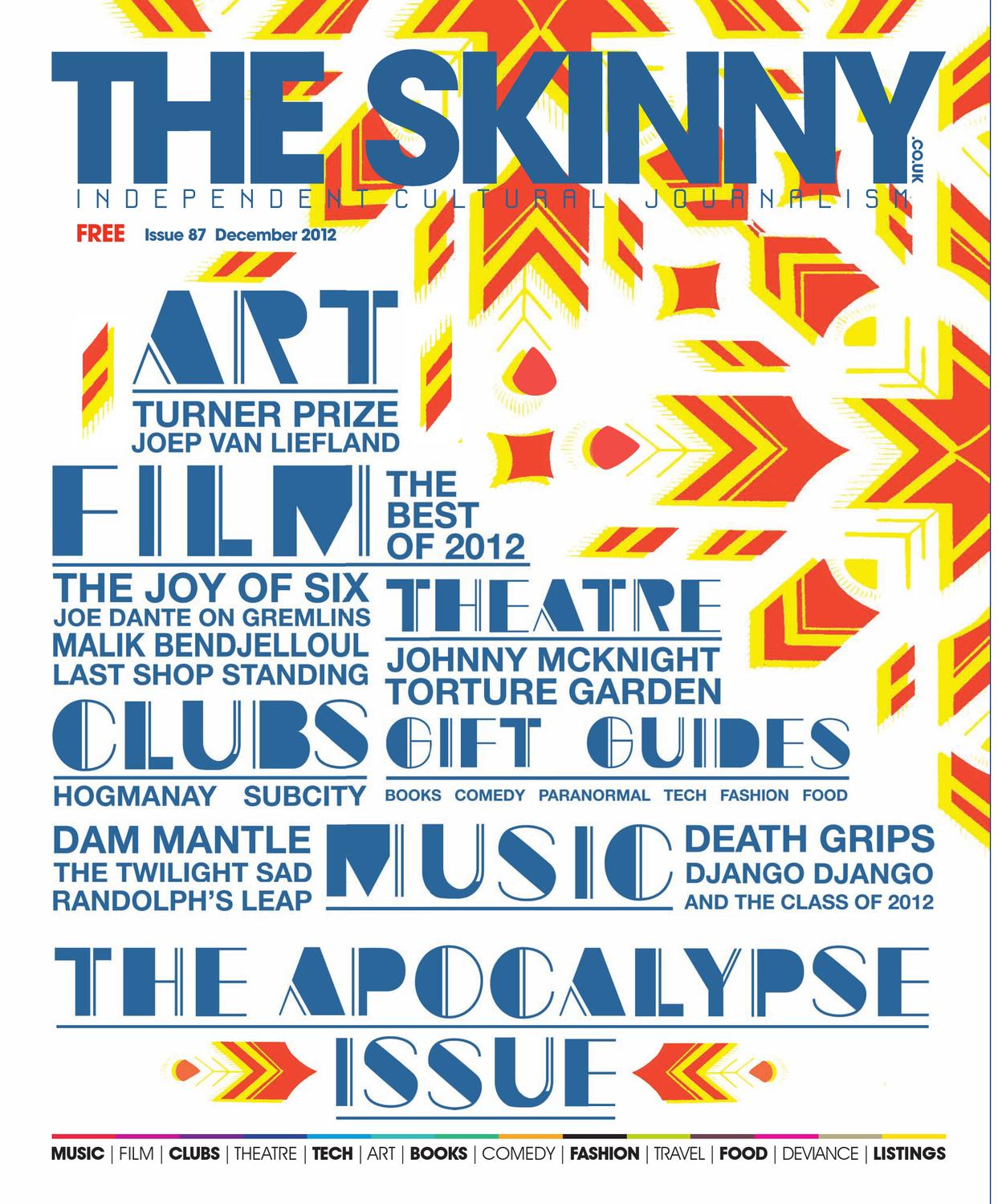 3594757f7ed The Skinny December 2012 by The Skinny - issuu
