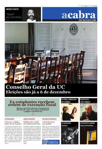 Edição 254 do Jornal Universitário de Coimbra - A Cabra by Jornal ... 1806b3e40d2