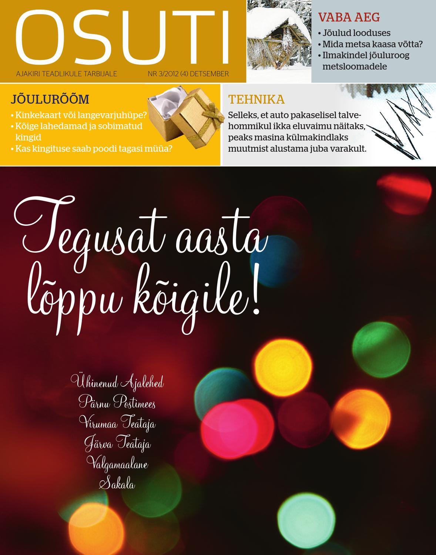 7f66846585b Osuti 3/2012 by AS Eesti Meedia - issuu