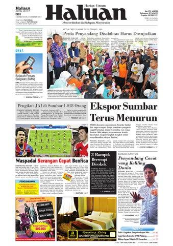Haluan 05 Desember 2012 by Harian Haluan - issuu 1ec0b3898a