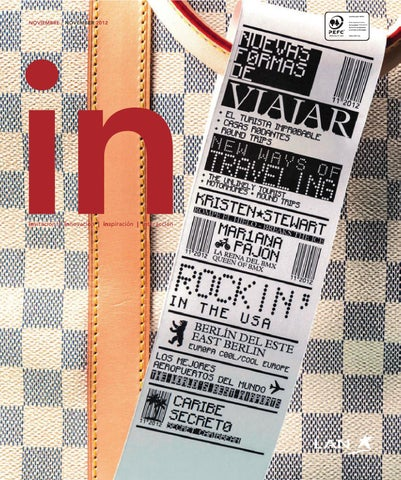 IN Magazine Noviembre 2012 by Spafax - issuu 585aa15912b6