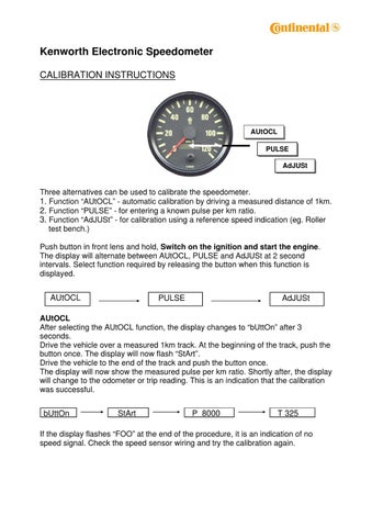 Kenworth%20Speedo%20Calibration%20Instructions by howard instruments