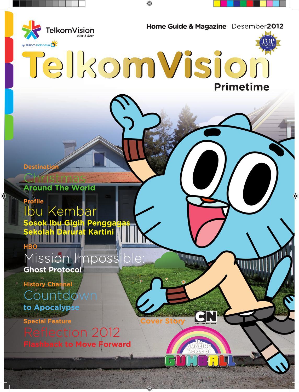 Desember 2012 Prime Time TelkomVision By Indonusa