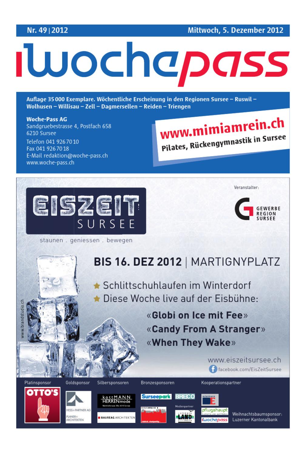 Woche-Pass | KW49 | 5. Dezember 2012 by Woche-Pass AG - issuu
