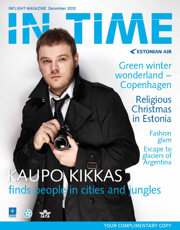 9093ec0bd14 In Time, December 2012 by Estonian Air - issuu