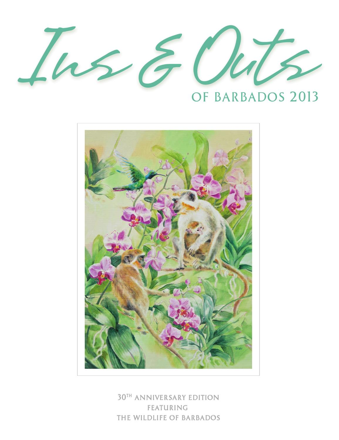 886b718ba235 Ins and Outs of Barbados 2013 by Miller Publishing Co Ltd - issuu
