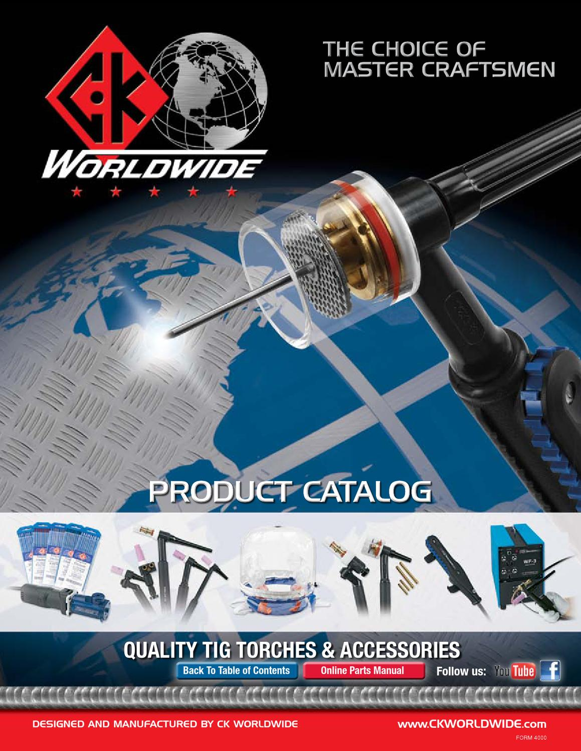 Ck Tig Welding Catalog By Rapid Welding Issuu
