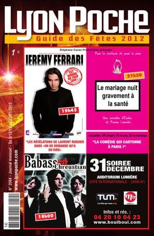 Lyon Poche Guide des Fêtes 2012 by Labille Etienne - issuu bbe6434b914a